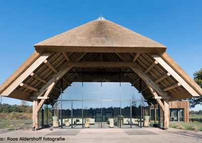 Maashorst ceremony building in Schaijk, commissioned by Natuurbegraven Nederland