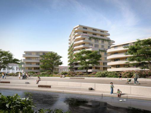 67 appartementen De Weef te Helmond